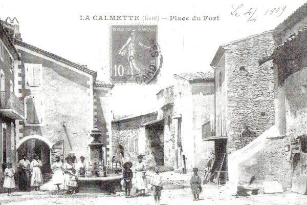 place du griffe dans le fort 1900