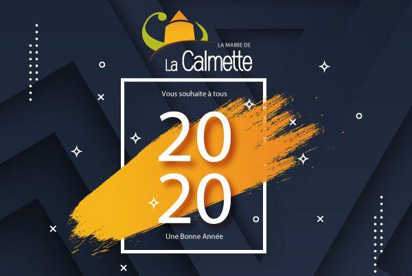 La mairie de La Calmette vous souhaite à tous une bonne année 2020